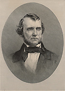 William Starling Sullivant (1803-1873), American botanist born at Columbus, Ohio. He specialised in bryology, the study of mosses and liverworts. Engraving, 1896.