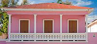 "A Caribbean pink ""casita"""