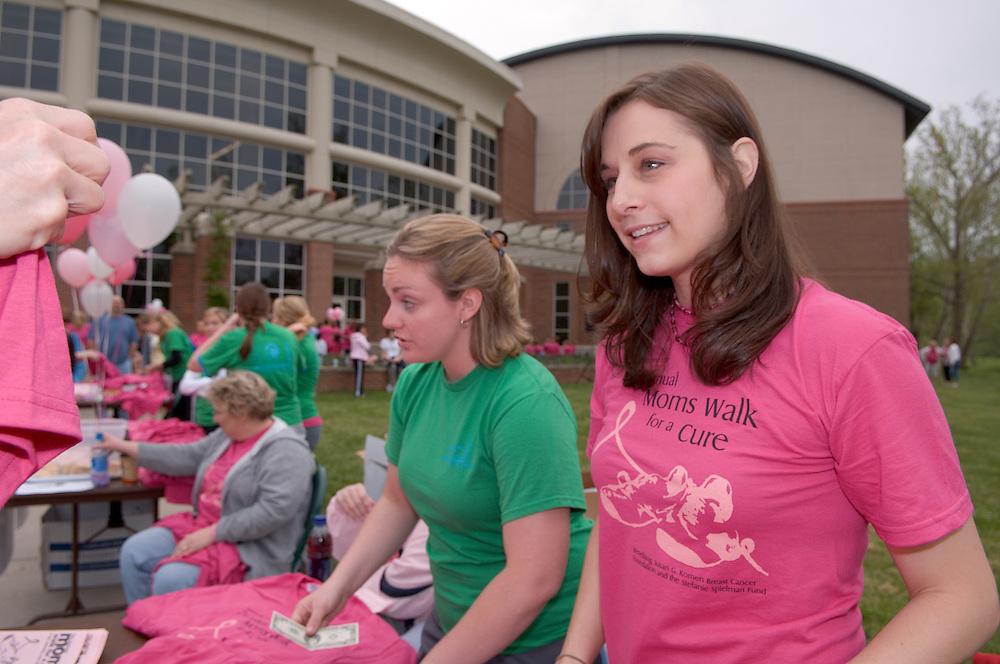 18211Mom's Weekend 2007 : Walk for a Cure....Allison Hitchner & Julie Kesterke(right)
