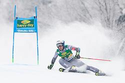 Victor Muffat-Jeandet of France during 1st run of Men's Giant Slalom race of FIS Alpine Ski World Cup 57th Vitranc Cup 2018, on 3.3.2018 in Podkoren, Kranjska gora, Slovenia. Photo by Urban Meglič / Sportida