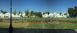 Pic from a panoramic photo from an iPhone6, of street scenes, Muscat, Oman. Images from the MSC Musica cruise to the Persian Gulf, visiting Abu Dhabi, Khor al Fakkan, Khasab, Muscat, and Dubai, traveling from 13/12/2015 to 20/12/2015.