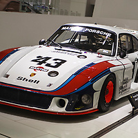 """#43 Porsche 935/78 """"Moby Dick"""" here at the Porsche Museum in 2010"""
