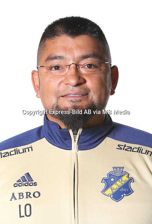 Luis Oyarzo<br /> Halvfigur<br /> @Leverans<br /> Allsvenskan 2016<br /> Fotboll