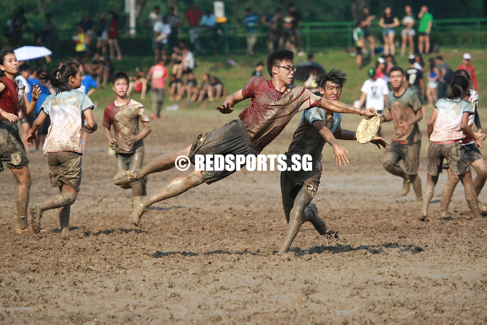 Admiralty Link, Sunday, June 5, 2016 &mdash; Pioneer Junior College (PJC) defeated Raffles Institution (RI) 13-9 to win the 12th Inter-JC Ultimate Championship.<br /> <br /> For PJC, victory this year marks a steady progression over the last three years. They had finished second to Serangoon Junior College (SRJC) in last year&rsquo;s final, and in 2014, they finished third. Defending champions SRJC finished sixth this year. RI were champions in 2013 and 2014.