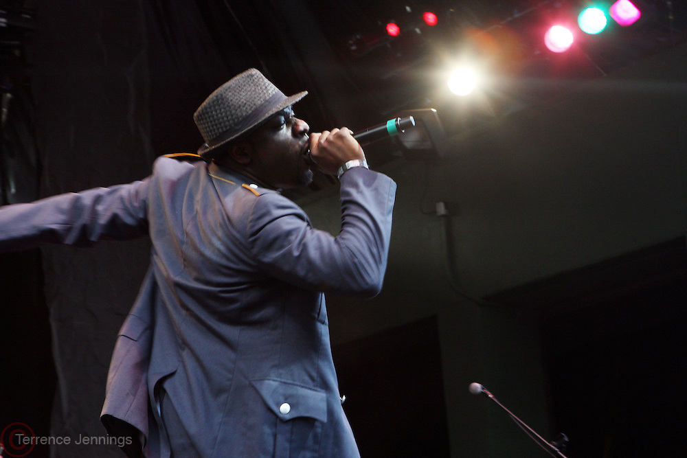 11 July 2010-Brooklyn, NY- Blitz the Ambassador at OkayAfrica with The Roots at Prospect Park Bandshell to a over capacity crowd of 15, 000 on July 11, 2010 in Brooklyn, NY. Photo Credit: Terrence Jennings/Sipa