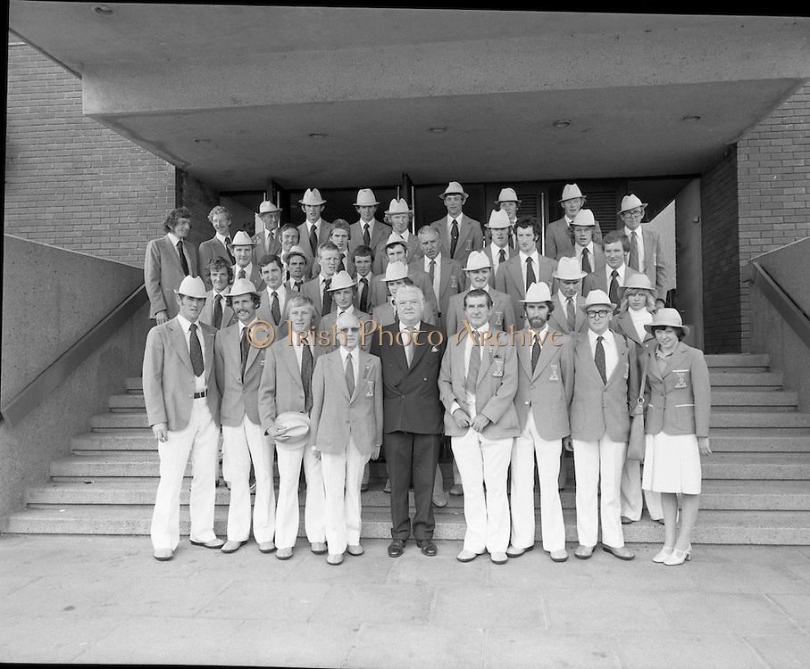 Olympic Team Leaves Dublin Airport.05/07/1976,