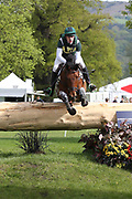 Tony Kennedy (NZL) on Westeria Lane during the International Horse Trials at Chatsworth, Bakewell, United Kingdom on 13 May 2018. Picture by George Franks.