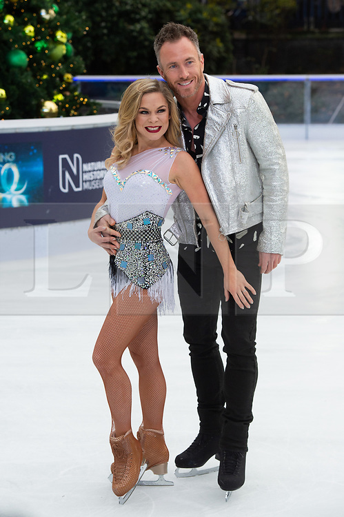 © Licensed to London News Pictures. 18/12/2018. London, UK. James Jordan and Alexandra Schauman attends a photocall for the launch of ITV's Dancing On Ice new series. Photo credit: Ray Tang/LNP