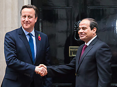 2015-11-05 Cameron welcomes Egyptian President Sisi to Downing Street