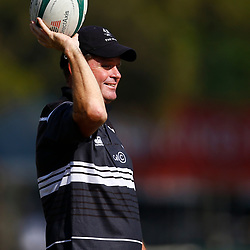 Sean Everitt (Head Coach) of the Cell C Sharks during The Cell C Sharks training session at Jonsson Kings Park Stadium in Durban, South Africa. 18th July 2019 (Mandatory Byline Steve Haag)