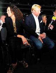 1.09.2010, Commerzbank-Arena, Frankfurt, GER, WM Fight WladimirKlitschko  und SamuelPeter, im Bild Lilly Becker und Boris Becker,  EXPA Pictures © 2010, PhotoCredit: EXPA/ nph/  Roth+++++ ATTENTION - OUT OF GER +++++