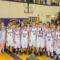 11-22-14 Berryville Jr. High Boys Basketball vs. Valley Springs