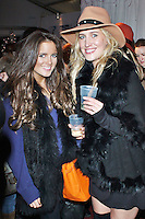 LONDON - December 10: Binky Felstead & Francesca Hull at the Very.co.uk - Catwalk Event (Photo by Brett D. Cove)
