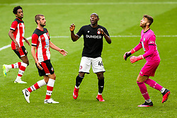 Benik Afobe of Bristol City during a friendly match before the Premier League and Championship resume after the Covid-19 mid-season disruption - Rogan/JMP - 12/06/2020 - FOOTBALL - St Mary's Stadium, England - Southampton v Bristol City - Friendly.