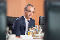 18 JUL 2018, BERLIN/GERMANY:<br /> Heiko Maas, SPD, Bundesaussenminister, vor Beginn der Kabinettsitzung, Bundeskanzleramt<br /> IMAGE: 20180718-01-001<br /> KEYWORDS: Kabinett, Sitzung