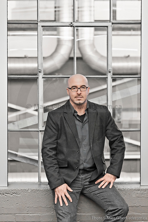 Portrait, membres de l'équipe de gestion des installations. à  Autodesk, 10 Rue Duke / Montreal / Canada / 2013-12-19, Photo © Marc Gibert / adecom.ca
