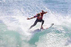 Current No.12 on the Jeep Leaderboard and 3X World Champion Mick Fanning of Australia advances directly to Round Three of the 2017 Hurley Pro Trestles after winning Heat 12 of Round One at Trestles, CA, USA.