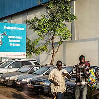18/11/2014. Conakry. Guinee Conakry.<br /> Affiche de sensibilisation contre la fi&egrave;vre Ebola &agrave; Conakry. &copy;Sylvain Cherkaoui/Cosmos pour Alima