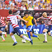 LANDOVER, MD - May 30th, 2012 - The US Men's National Soccer Team faces off against world power Brazil in a friendly at FedEx Field in Landover, MD. Brazil would go on to win 3-1. (Photo by Kyle Gustafson)
