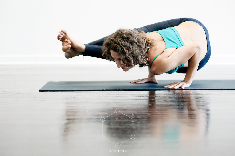 Woman practicing yoga.&ldquo;Yoga is not about doing the asanas&mdash;it&rsquo;s about un-doing what&rsquo;s in the way of the asanas,&rdquo; Leslie Kaminoff <br />