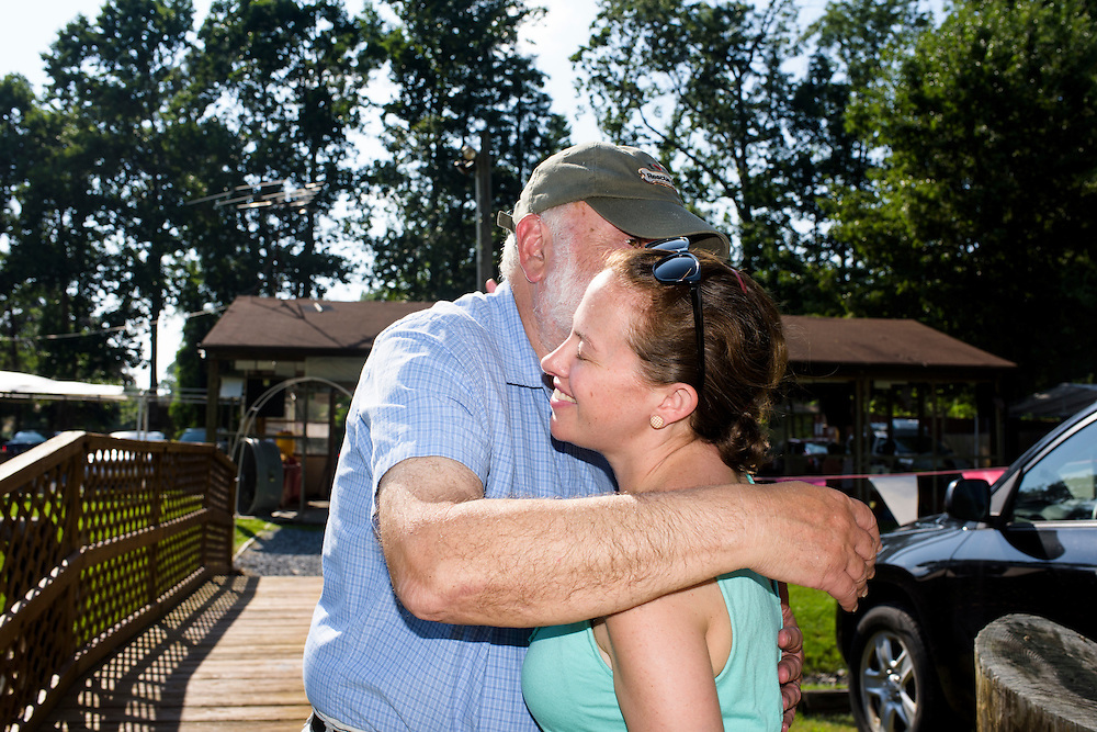 Mays Landing, New Jersey - June 21, 2015: Claire and I spent Fathers' Day with her parents. CREDIT: Matt Roth