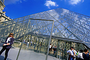 Image of the Musee du Louvre in Paris, France