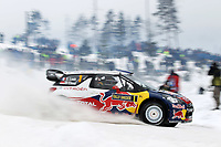 MOTORSPORT - WORLD RALLY CHAMPIONSHIP 2012 - RALLY SWEDEN / RALLYE DE SUEDE - 08 TO 12/02/2012 - KARLSTAD (SWE) - PHOTO : FRANCOIS BAUDIN /  DPPI - 01	CITROEN TOTAL WRT / LOEB Sebastien - ELENA Daniel / CITROEN DS 3 - WRC / Action