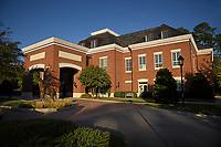 Fall at Park Alumni Center on Centennial Campus.