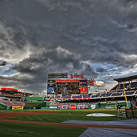 21 August 2012:  A 10 frame HDR image done at Nationals Park in Washington, D.C. where the Washington Nationals defeated the Atlanta Braves, 4-1.