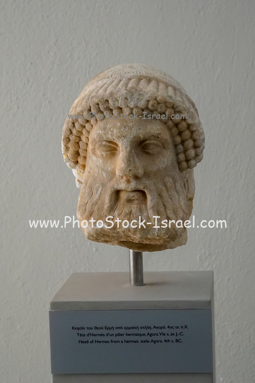 Head of Hermes, Archaeological Museum of Thasos is a museum located in Limenas on the island of Thasos, East Macedonia, Greece
