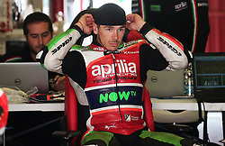 May 22, 2018 - Barcelona, Catalonia, Spain - Scott Redding (Aprilia) during the Moto GP tests in the Barcelona Catalunya circuit, in Barcelona, Spain, on May 22, 2018. (Credit Image: © Joan Valls/NurPhoto via ZUMA Press)