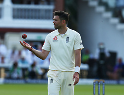 July 7, 2017 - London, United Kingdom - England's James Anderson .during 1st Investec Test Match between England and South Africa at Lord's Cricket Ground in London on July 07, 2017  (Credit Image: © Kieran Galvin/NurPhoto via ZUMA Press)