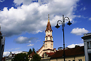 St. Nicholas's Russian Orthodox Church in the old town, Vilnius, Lithuania