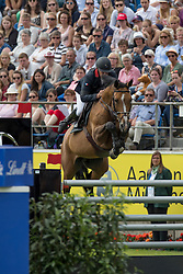 Bost Roger Yves, (FRA), Qoud Coeur de la Loge<br /> Rolex Grand Prix<br /> CHIO Aachen 2016<br /> © Hippo Foto - Dirk Caremans<br /> 17/07/16