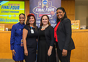 Elmore Elementary School is recognized during the reveal of the 32 finalists in the Houston ISD NCAA Read to the Final Four, November 11, 2015.