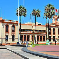 Plaza Grau in Callao, Peru<br />