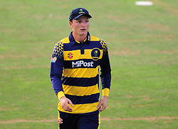 Aneurin Donald of Glamorgan looks on.  - Mandatory by-line: Alex Davidson/JMP - 22/07/2016 - CRICKET - Th SSE Swalec Stadium - Cardiff, United Kingdom - Glamorgan v Somerset - NatWest T20 Blast