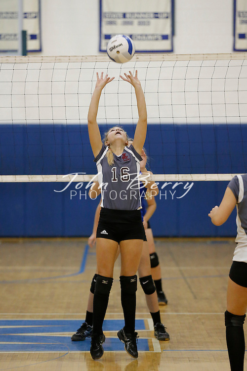 October 14, 2014.  <br /> MCHS JV Volleyball vs Warren Wildcats.  Madison loses to Warren 2-0.