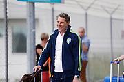SWIDNIK, POLEN 2017-06-12<br /> H&aring;kan Ericsson och det svenska landslaget anl&auml;nder till Lublins flygplats den 12 juni 2017.<br /> Foto: Nils Petter Nilsson/Ombrello<br /> Fri anv&auml;ndning f&ouml;r kunder som k&ouml;pt U21-paketet.<br /> Annars Betalbild.<br /> ***BETALBILD***
