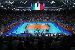 PANORAMICA PALALIDO<br /> ITALIA - POLONIA<br /> PALLAVOLO VNL VOLLEYBALL NATIONS LEAGUE 2019<br /> MILANO 23-06-2019<br /> FOTO GALBIATI -  RUBIN