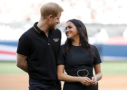 Embargoed to 0001 Sunday July 14 File photo dated 29/06/19 of The Duke and Duchess of Sussex, who will attend the European premiere of The Lion King.