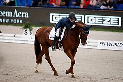 Witte-Vrees, Madeleine (NED) Cennin<br /> Stuttgart - German Masters 2016<br /> © www.sportfotos-lafrentz.de
