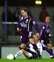 SALZBURG: 2001-11-28. Fotball. Salzburg-Austria Wien. Sigurd Rushfeldt.<br />Foto: Calle Törnström, Digitalsport