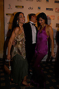 Sofia Hayat, Young achiever of the year Ravi Gehlot and Irena Shields (pink), . The Asian Business Awards 2005. Hilton. London. 7 April 2005. ONE TIME USE ONLY - DO NOT ARCHIVE  © Copyright Photograph by Dafydd Jones 66 Stockwell Park Rd. London SW9 0DA Tel 020 7733 0108 www.dafjones.com