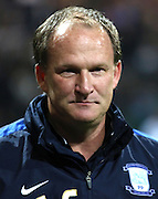Preston Manager Simon Grayson during the Sky Bet Championship match between Preston North End and Bolton Wanderers at Deepdale, Preston, England on 31 October 2015. Photo by Pete Burns.