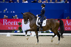 Graves Laura, USA, Verdades<br /> Grand Prix de Dressage<br /> FEI World Cup Dressage Final, Omaha 2017 <br /> © Hippo Foto - Dirk Caremans<br /> 30/03/2017
