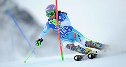 29.12.2014, Hohe Mut, Kühtai, AUT, FIS Ski Weltcup, Kühtai, Slalom, Damen, 1. Durchgang, im Bild Sarka Strachova (CZE) // Sarka Strachova of Czech Republic in action during 1st run of Ladies Slalom of the Kuehtai FIS Ski Alpine World Cup at the Hohe Mut Course in Kuehtai, Austria on 2014/12/29. EXPA Pictures © 2014, PhotoCredit: EXPA/ Erich Spiess
