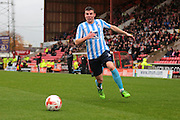 Coventry City defender Chris Stokes during the Sky Bet League 1 match between Swindon Town and Coventry City at the County Ground, Swindon, England on 24 October 2015. Photo by Jemma Phillips.