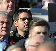 David Wagner new head coach of Huddersfield Town watches from the stands the teams game against Leeds United during the Sky Bet Championship match at the John Smiths Stadium, Huddersfield<br /> Picture by Graham Crowther/Focus Images Ltd +44 7763 140036<br /> 07/11/2015