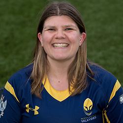Emma Fosh of Worcester Valkyries - Mandatory by-line: Robbie Stephenson/JMP - 14/09/2017 - RUGBY - Sixways Stadium - Worcester, England - Worcester Valkyries Headshots